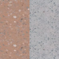 povrch terakota jemný vymývaný/šedý jemný vymývaný